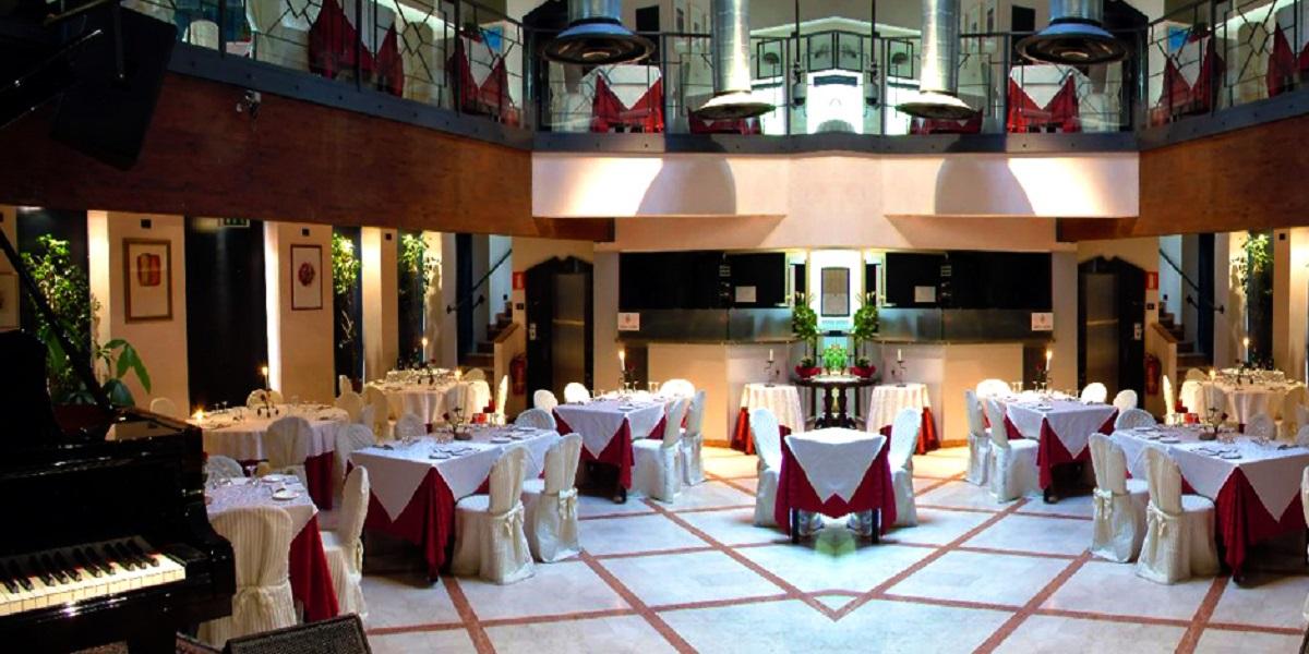 Ristorante hotel Ca' Bianca Milano