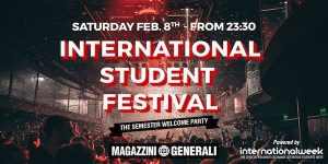International Student Festival ai Magazzini Generali