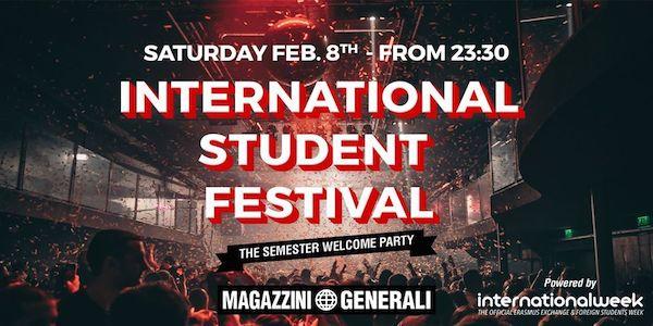 International Student Festival ai Magazzini Generali